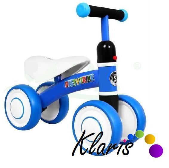 Odrážadlo pre najmenších SPORTRIKE Petty Trike- modré  a12a4eefe2f