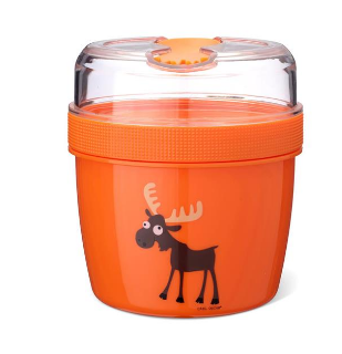 Box N'ice Cup - L, Lunch Box s chladiacou časti - Orange