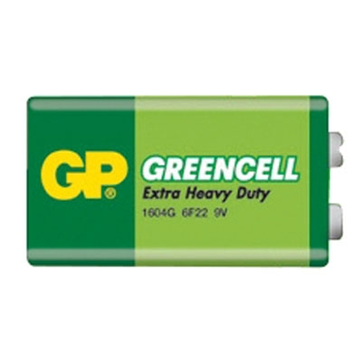 Baterie GP Greencell 6F22 9V