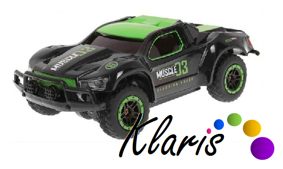 RC auto Racing Rally 4WD 2,4GHz 1:43 - zelené