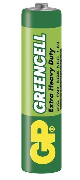 Batéria GP GreenCell AAA 1,5V
