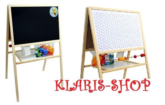 Obojstranná edukačné tabule - mozaiková a písacie tabule s doplnkami empty 8a6d4e5554b